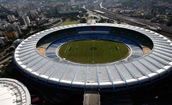 El histórico estadio Maracaná fue una de las sedes anunciadas por la FIFA.   Foto: EFE